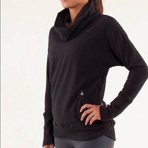 🙋🏻‍♀️LULULEMON Rest Day Cowl Neck Pullovet